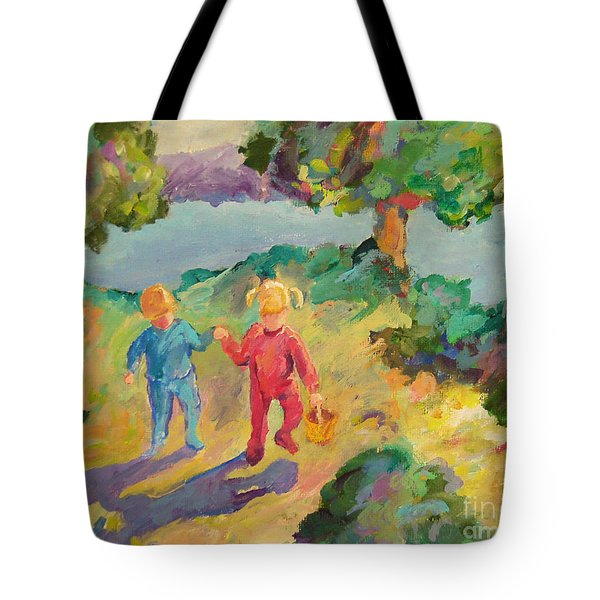Early Morning Tote Bag by Peggy Johnson