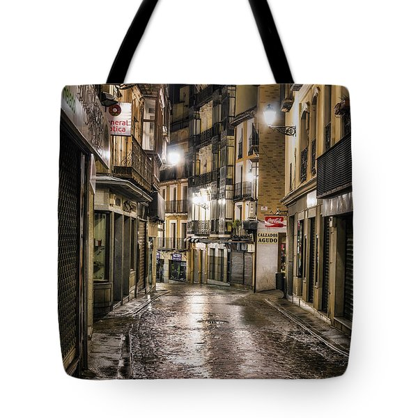 Early Morning Toledo Tote Bag by Joan Carroll