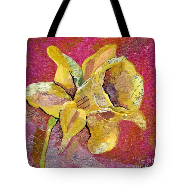 Early Spring I Daffodil Series Tote Bag by Shadia Derbyshire