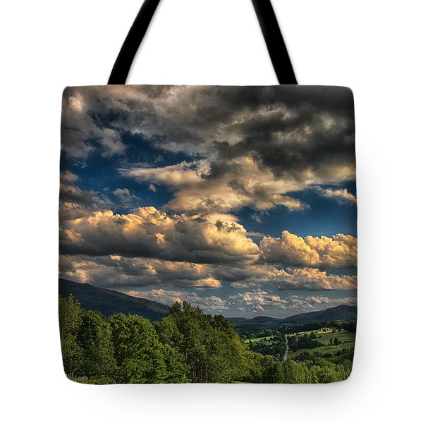 Earth Bending At Mt. Ascutney Tote Bag by Nathan Larson