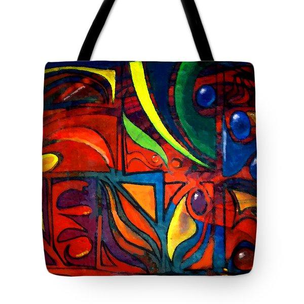 Earth Tote Bag by Marcello Cicchini
