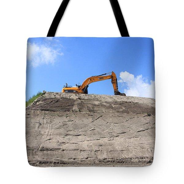 Earthmover Tote Bag by Aidan Moran