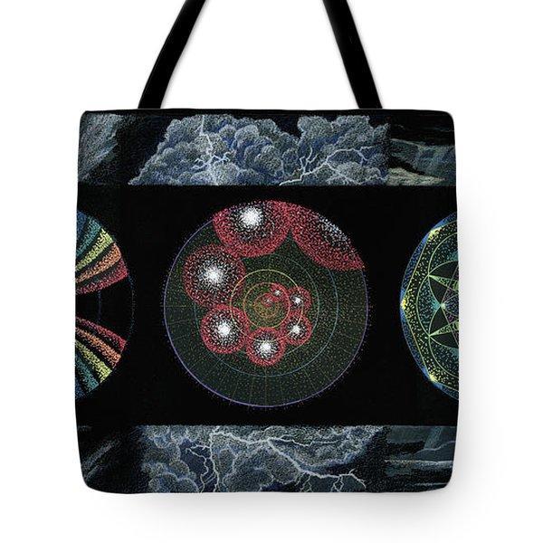 Earth's Beginnings Tote Bag by Keiko Katsuta