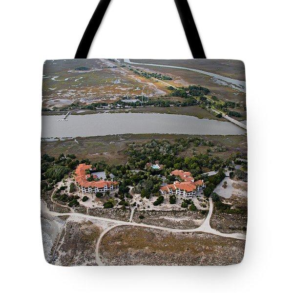 East Coast Georgia Tote Bag by Betsy Knapp