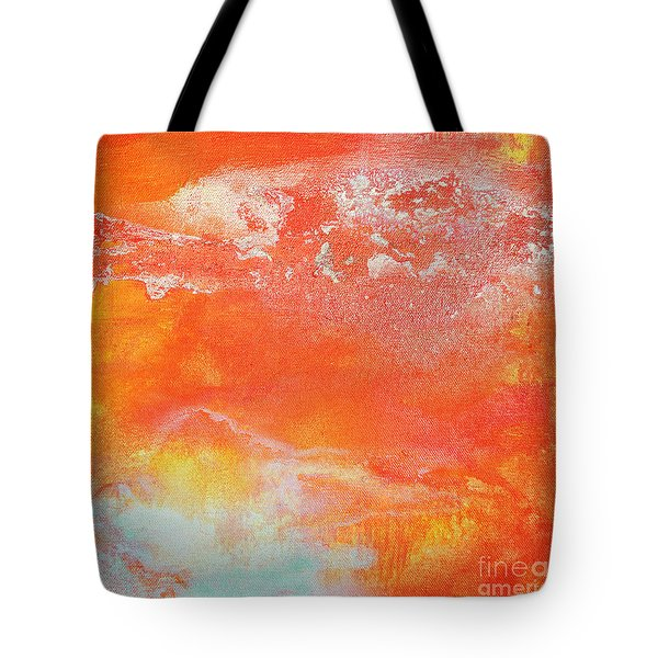 East End Sunset Tote Bag by Anahi DeCanio