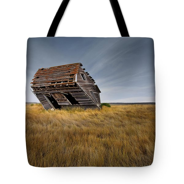 East Montana Texture Tote Bag by Leland D Howard