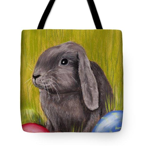 Easter Bunny Tote Bag by Anastasiya Malakhova