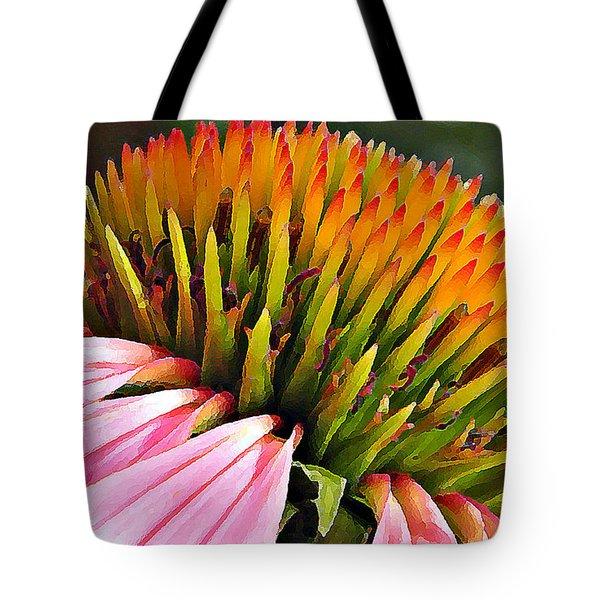 Echinacea In  Watercolors  Tote Bag by Chris Berry