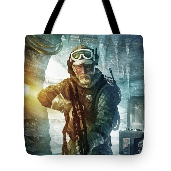 Echo Base Trooper Tote Bag by Ryan Barger
