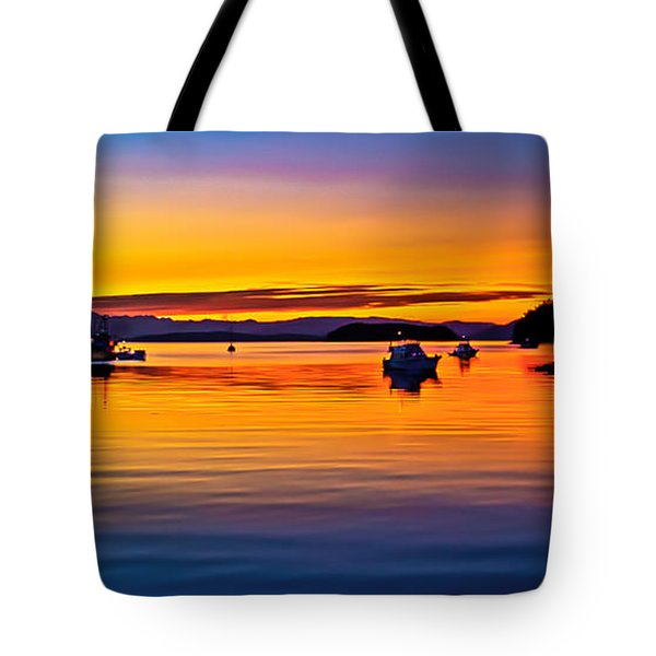 Echo Bay Sunset Tote Bag by Robert Bales