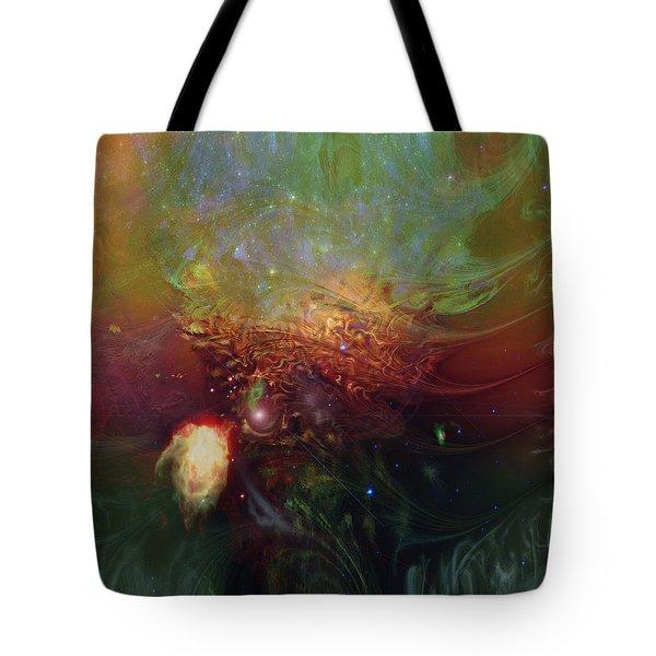 Echoes Tote Bag by Linda Sannuti