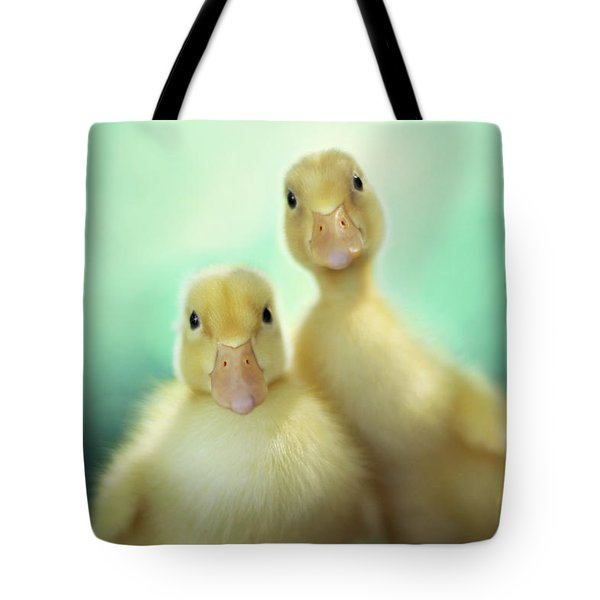 Edgar And Sally Tote Bag by Amy Tyler