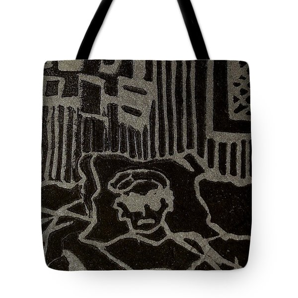 Edgar Tote Bag by Erika Chamberlin
