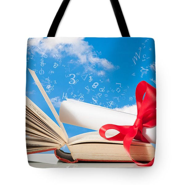 Education Tote Bag by Amanda And Christopher Elwell
