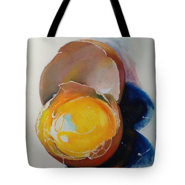 Egg.. Tote Bag by Alessandra Andrisani