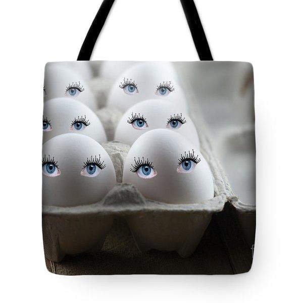 Eggs Tote Bag by Juli Scalzi