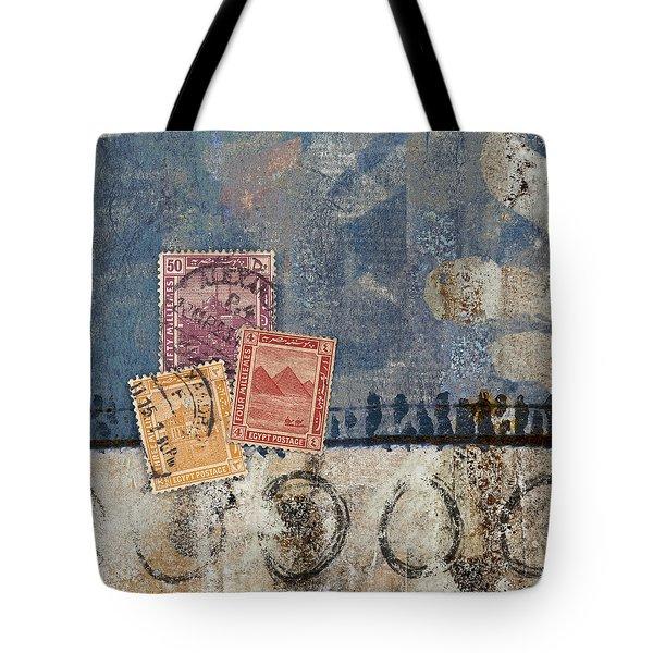Egyptian Skies Tote Bag by Carol Leigh