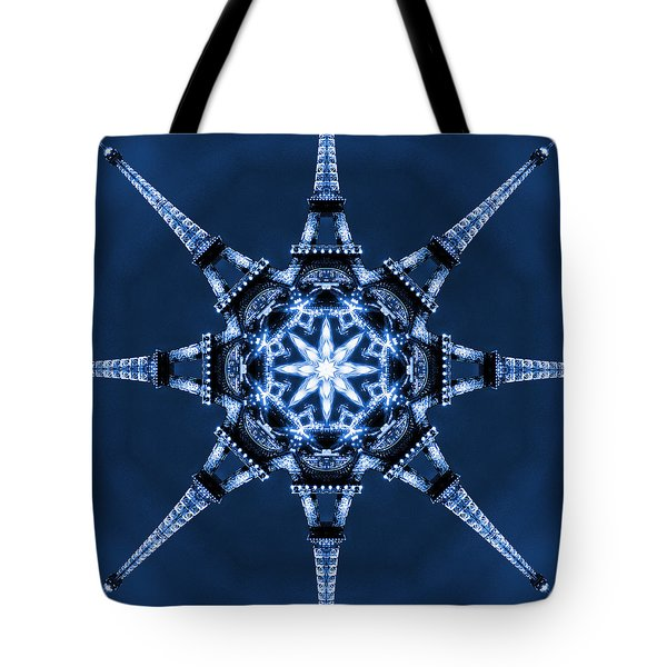 Eiffel Art 5 Tote Bag by Mike McGlothlen