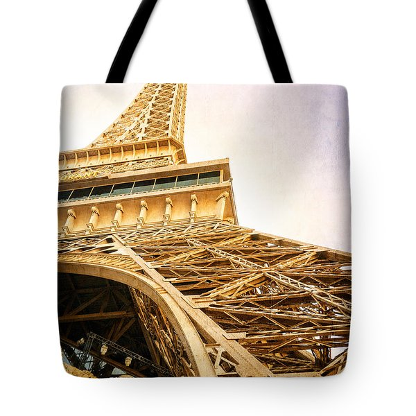 Eiffel Tower Tote Bag by Edward Fielding