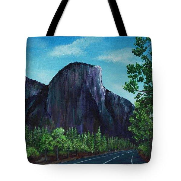 El Capitan Tote Bag by Anastasiya Malakhova