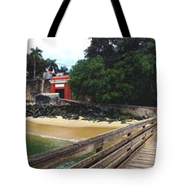 El Morro Park Tote Bag by Carey Chen