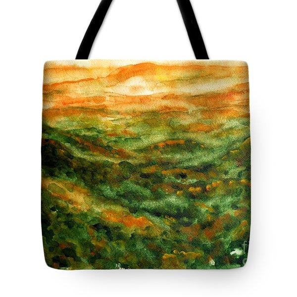 El Yunque Rainforest Tote Bag by Zaira Dzhaubaeva