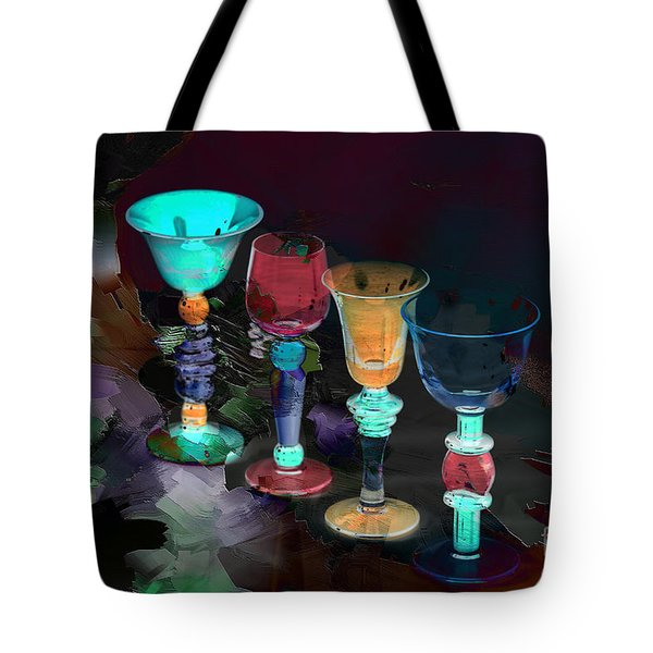 Electric Slide Tote Bag by A New Focus Photography