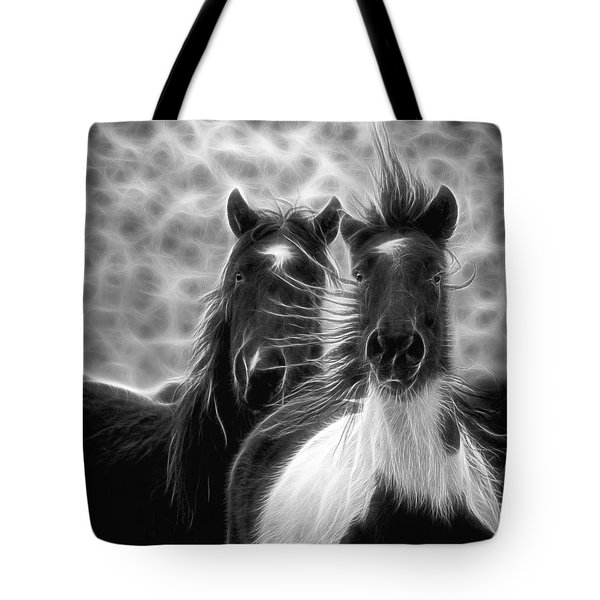 Electrified And Wild D8873 Tote Bag by Wes and Dotty Weber