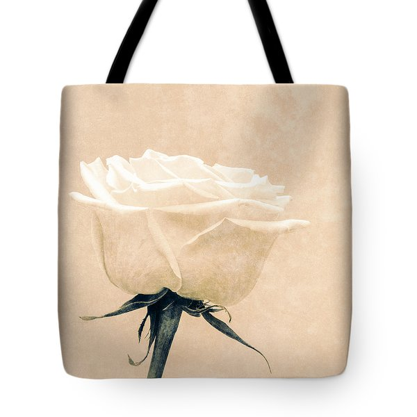 Elegance in white Tote Bag by Wim Lanclus