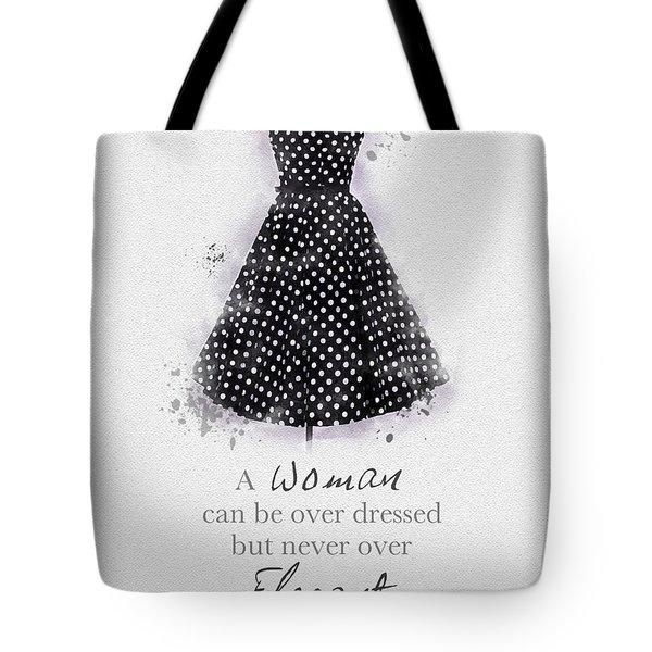Elegant Tote Bag by Rebecca Jenkins