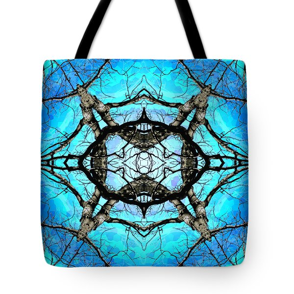 Elemental Force Tote Bag by Shawna Rowe