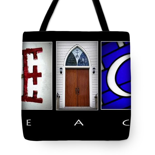 Elements Of Peace Tote Bag by Cricket Hackmann