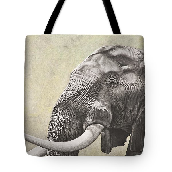 Elephant Tote Bag by Ashleigh Dix