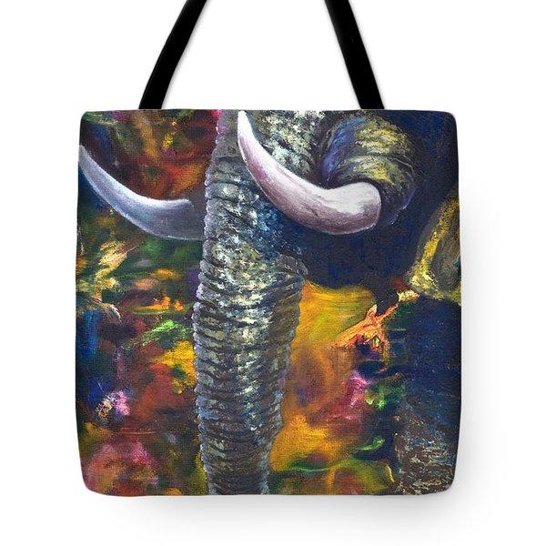 Elephant Tote Bag by Kd Neeley