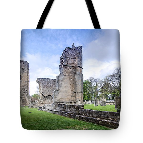Elgin Cathedral Community - 19 Tote Bag by Paul Cannon