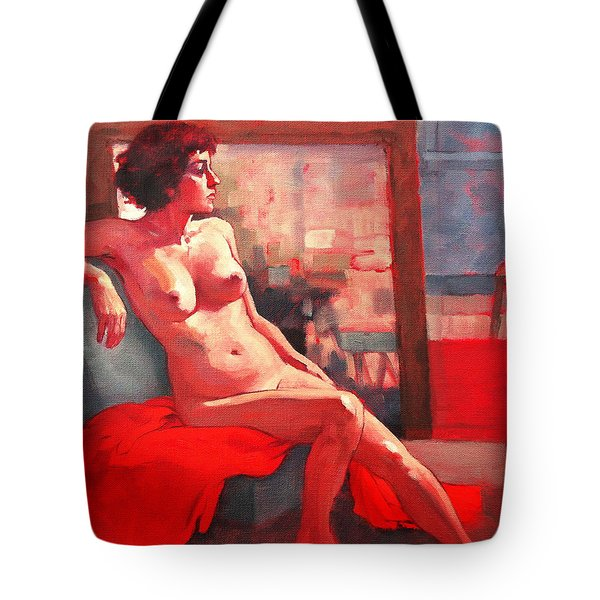 Elisa Tote Bag by Roz McQuillan