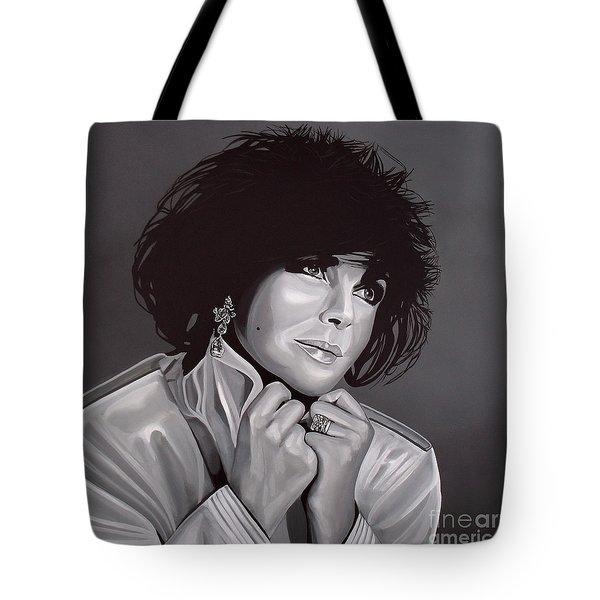 Elizabeth Taylor Tote Bag by Paul Meijering