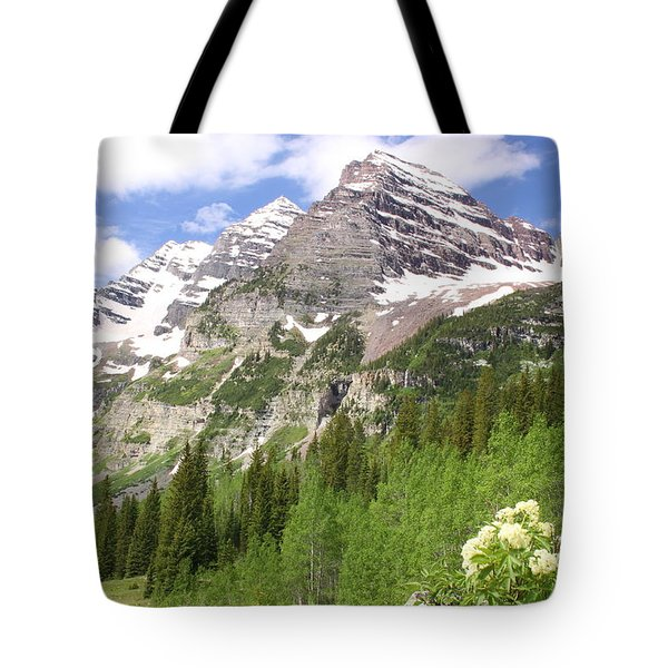 Elk Mountains Tote Bag by Eric Glaser
