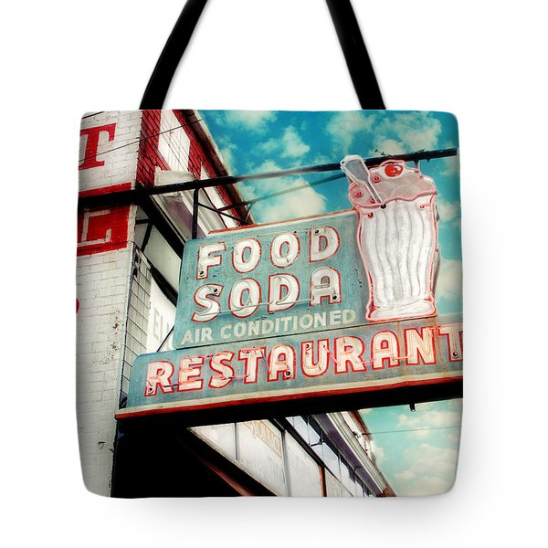 Elliston Place Soda Shop Tote Bag by Amy Tyler