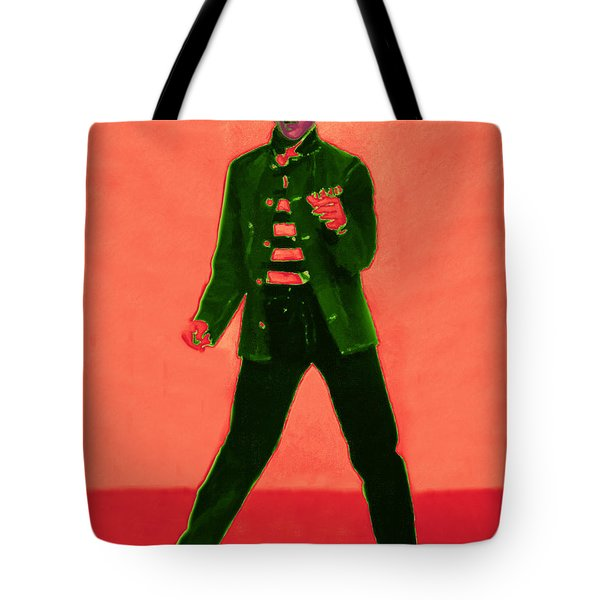 Elvis Is In The House 20130215m40 Tote Bag by Wingsdomain Art and Photography