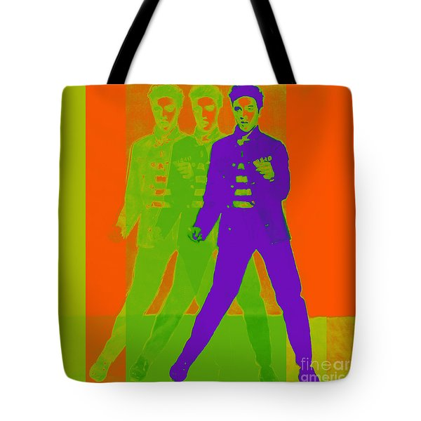 Elvis Jail House Rock 20130215m28 Tote Bag by Wingsdomain Art and Photography