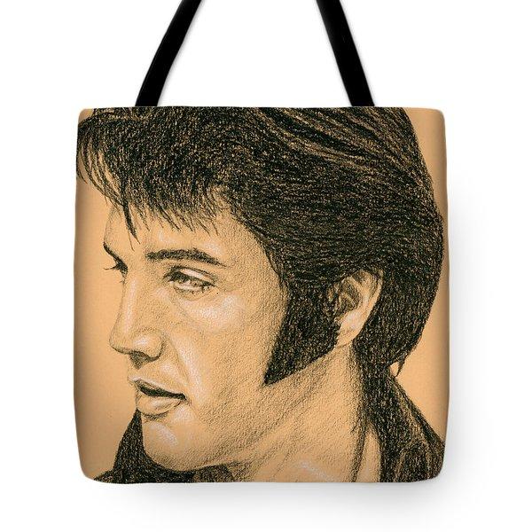 Elvis Las Vegas 69 Tote Bag by Rob De Vries
