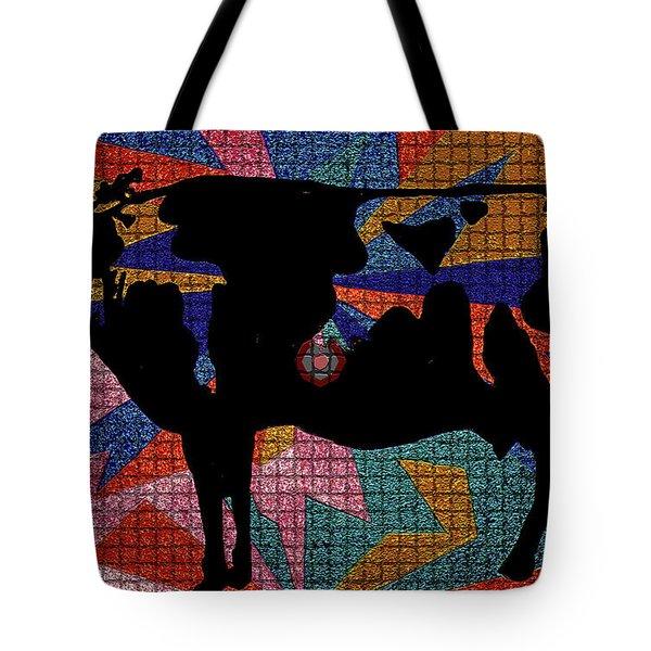 Elvis My Cow Tote Bag by Robert Margetts