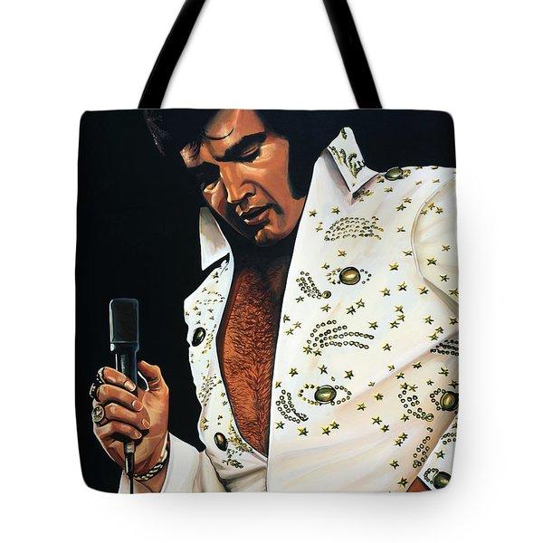 Elvis Presley Tote Bag by Paul  Meijering