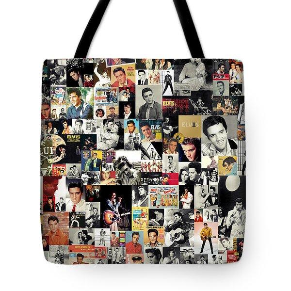 Elvis The King Tote Bag by Taylan Soyturk