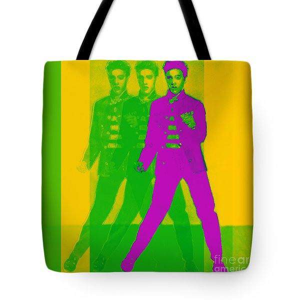 Elvis Three 20130215 Tote Bag by Wingsdomain Art and Photography