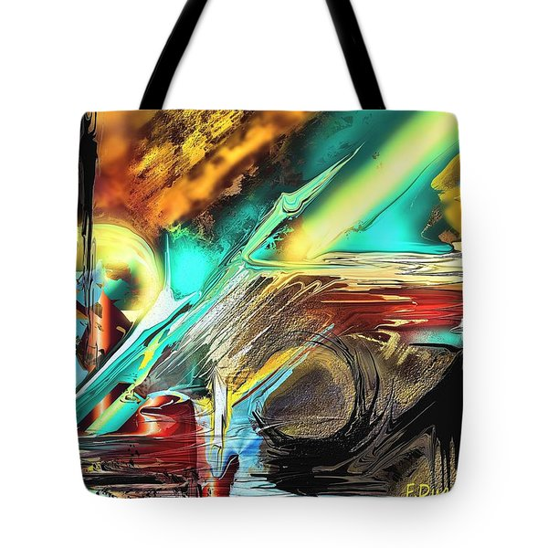 Emanation Tote Bag by Francoise Dugourd-Caput