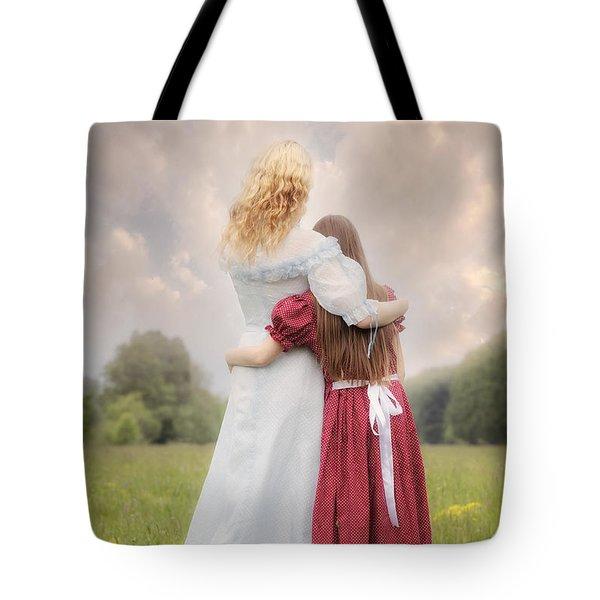 embrace Tote Bag by Joana Kruse
