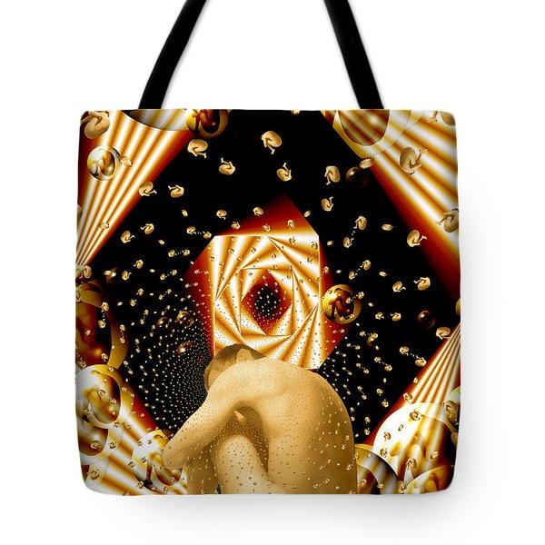 Embryonic Voyage Tote Bag by Kurt Van Wagner
