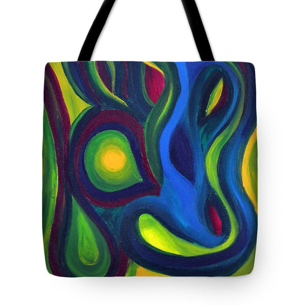 Emerald Dreams Tote Bag by Daina White